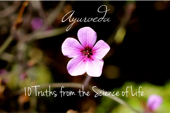 10 truths about ayurveda the life science